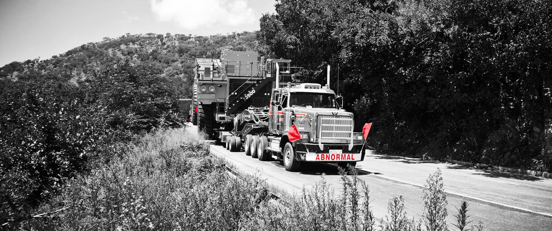 Transport of Heavy Machinery